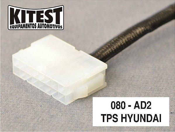 Cabo TPS GM Hyundai CAB-080.AD2