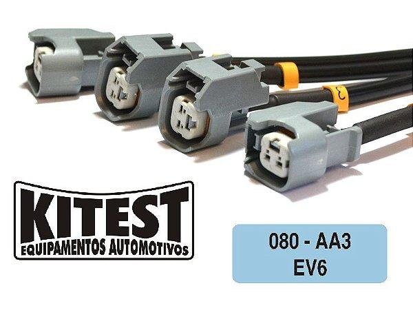 Cabo Testar Bicos Injetores EV6 CAB-080.AA3