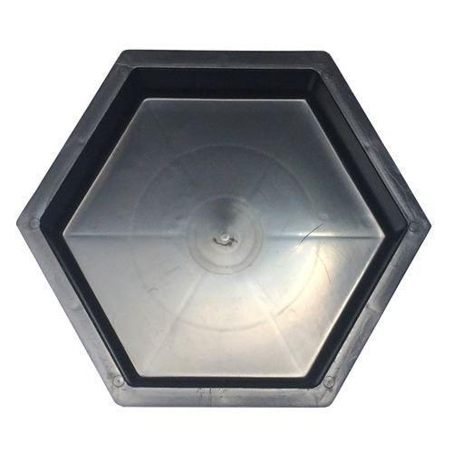 Forma Plástica Sextavada Lisa Bloquete 25x25x8cm - FP004