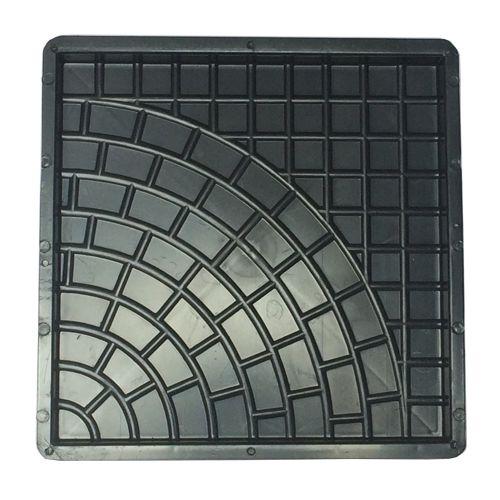 Forma Quadrada Trabalhada Calçada Cimento 32x32x2,5 - FP024