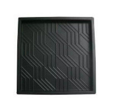 Forma Quadrada Estriada Calçada Cimento 49x49x3,5 - FP023