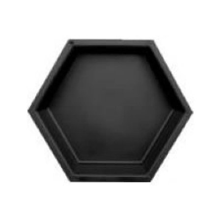 Forma Plástica Sextavada Lisa Bloquete 25,7x25,7x8cm - FP040
