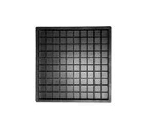 Forma Plástica Ladrilho 20x20x1,5cm Piso Xadrez 9 Quadros FP051