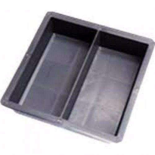 Forma Peyver Dupla em PVC 20x10x4 cm Geminada - FP062