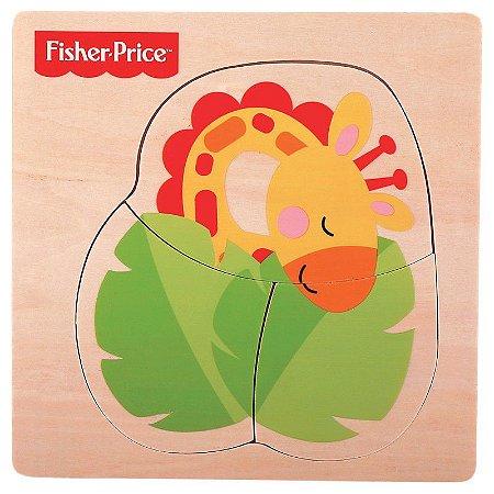 Brinquedo Bebê Meu Primeiro Quebra Cabeça Animal Fisher Price