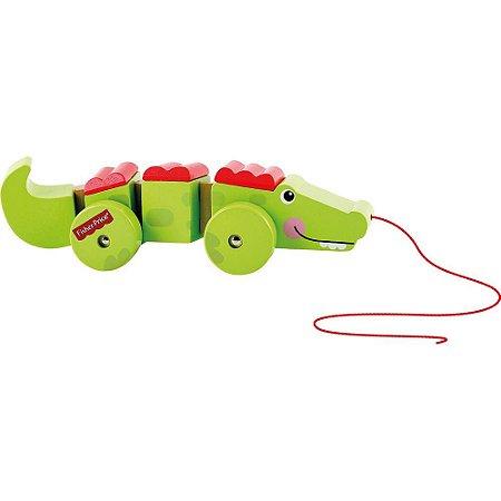 Brinquedo Meu Crocodilo sobre Rodas Fisher Price 7791-2