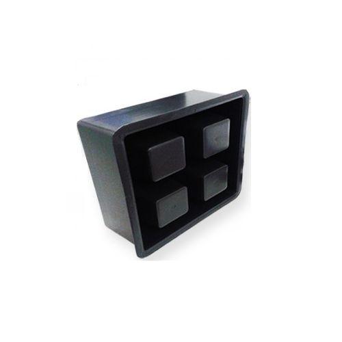 Forma Elemento Vazado 24x24x10 cm - FP108