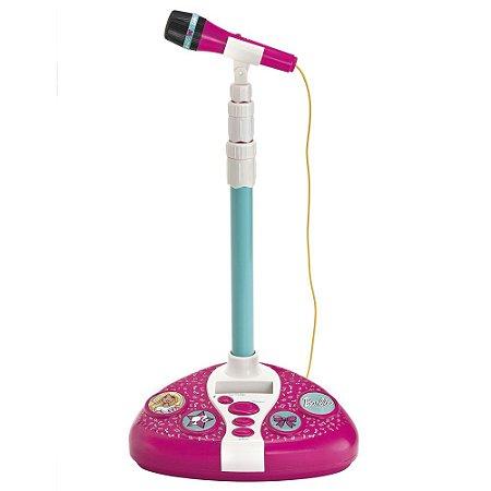 Microfone Boneca Barbie Karaokê Fabuloso 8007-0