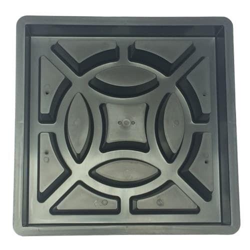 Forma para Fabricar Elemento Vazado 04 Pontas 39x39x7cm - FP140