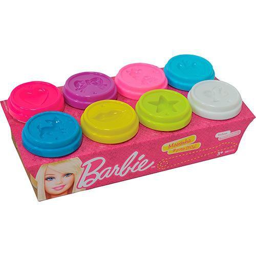 Massinha de Modelar Barbie - 8 Potes 50g - Mattel