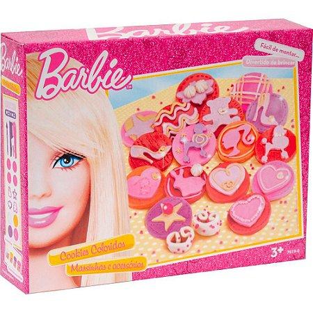 Massinha de Modelar Barbie Cookies Coloridos 7619-0