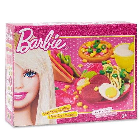 Massinha de Modelar Barbie Comidinha Divertida 7619-6