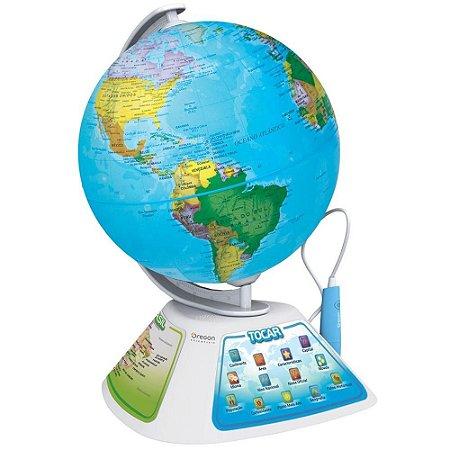 Globo Didático Smart Globe Discovery com Caneta Interativa
