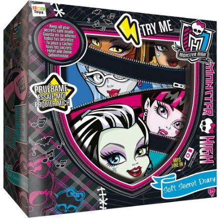 Diário Monster High Horripilante Infantil - 7647-2