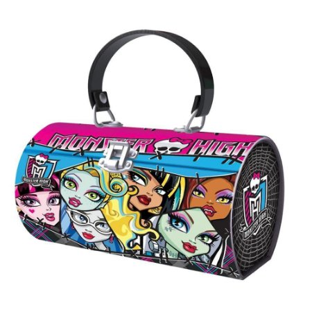 Bolsa Metálica Estojo Monster High 7379-8