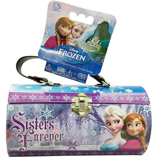 Bolsa Estojo Princesa Disney Frozen 7845-9