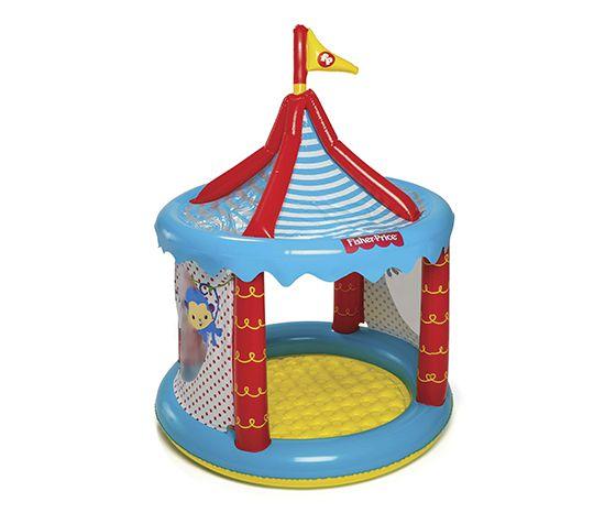 Circo Inflável com 25 bolinhas Fisher Price 8013-6