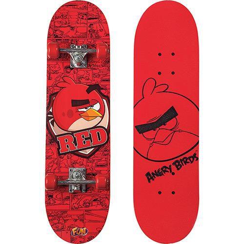 Skate Infantil Irado Angry Birds 7730-8 - Fun
