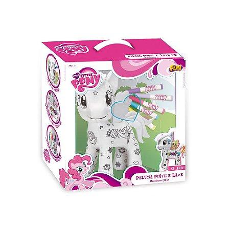 My Little Pony Brinquedo Infantil Pinte e Lave 3D 7921-2
