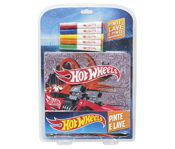 Hot Wheels Brinquedo Infantil Pinte e Lave 7345-6
