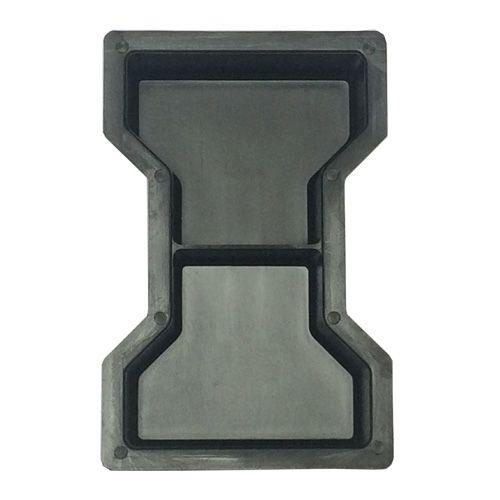 Kit com 10 unidades Forma Ossinho Chanfrado 25 x 15 x 6 cm (meia) - FP041
