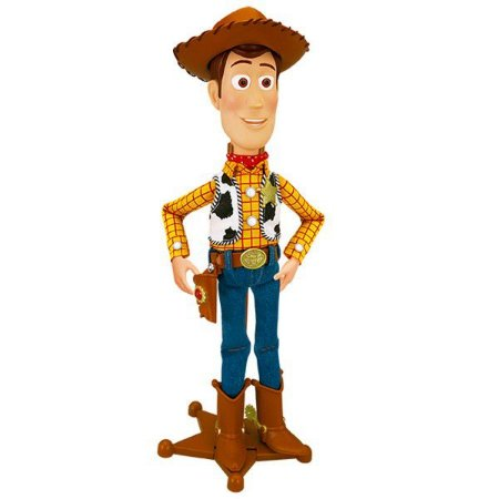Boneco Toy Story Woody 40cm 45 Falas em Português Br691 - Multikids