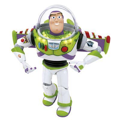 Boneco Toy Story Buzz Lightyear 21 Falas Português Br690 - Multikids