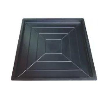 Kit com 10 unidades Forma Trabalhada Pirâmide 49 x 49 x 2,5 cm - FP123