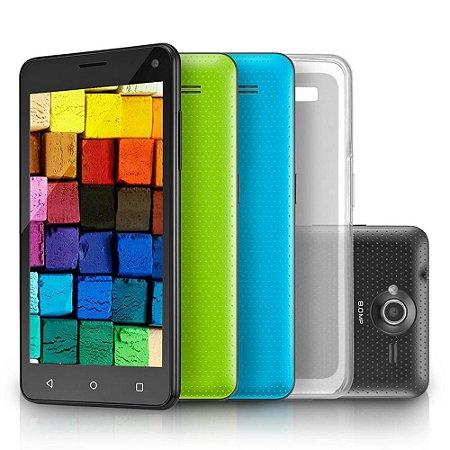 "Smartphone MS50 3G Mini Tablet 2 Câmeras 4"" NB220 - Multilaser"