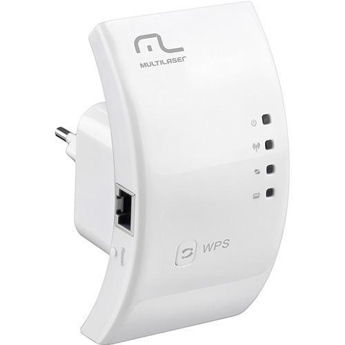 Repetidor Sinal Internet Wireless 300MBPs Amplificador RE051 - Multilaser