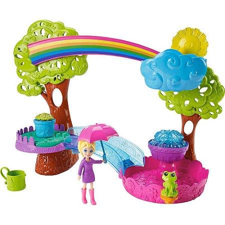 Boneca Polly Pocket Estações Diversão Na Chuva 7991-5 - Mattel