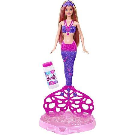 Boneca Barbie Fairy Sereia Bolhas Magicas 7767-2 - Mattel