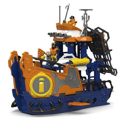 Imaginext Navio Barco Comando Do Mar Brinquedo 7995-5 - Mattel
