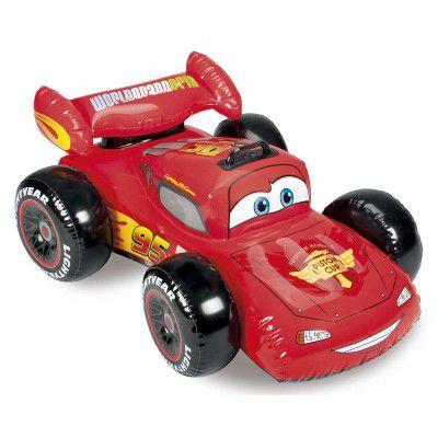 Bote Inflável Cars Carros Infantil Piscina Praia 7673-5 - Intex
