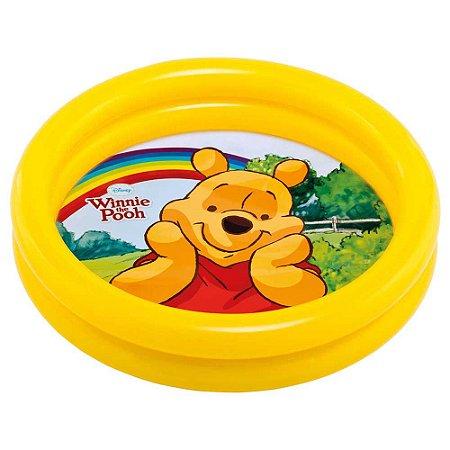 Piscina de Bebê Inflável 15L Ursinho Pooh Infantil Praia 6993-5 - Intex
