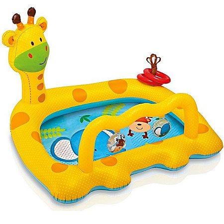 Piscina Inflável Girafa Divertida 53L Infantil Praia 7892-9 - Intex