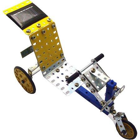 Bicicleta de Energia Solar Brinquedo Montar Robótica - Modelix