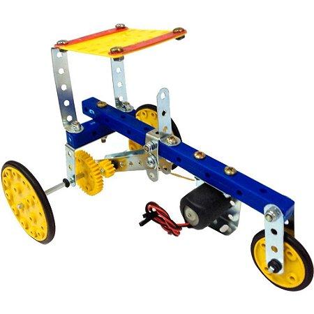 Trator de Energia Elétrica Brinquedo Montar Robótica - Modelix