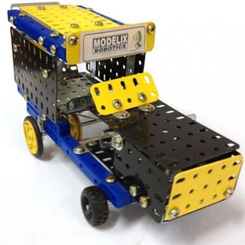 Carro Motorizado Brinquedo Montar Robótica Educativo Modelix