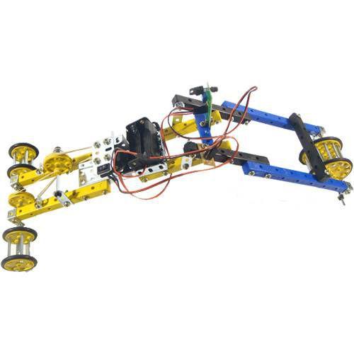 Caminhão Lunar Elétrico Brinquedo Montar Robótica - Modelix