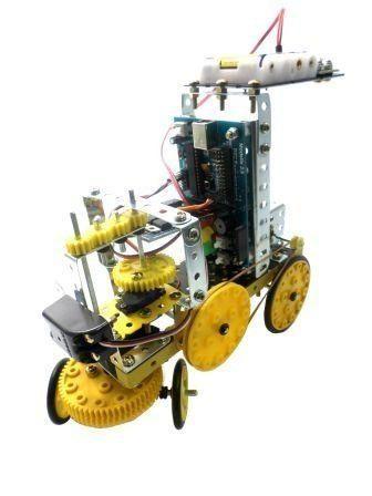 Kit de Robótica F4 IPROG 489 Brinquedo Educativo - Modelix