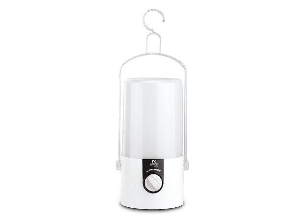 Lampião 21 LEDs Sinalizador Camping Recarregável 5534 NSBAO