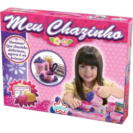 Meu Chazinho Conjunto De Xícara Infantil Menina 269 - Big Star