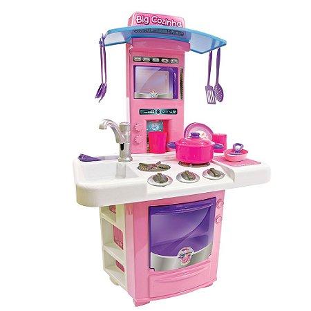 Nova Big Cozinha Brinquedo Infantil 630 - Big Star