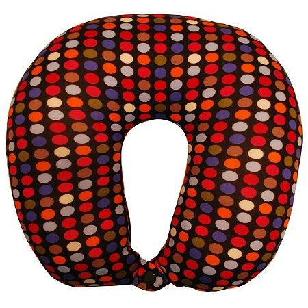 Travesseiro De Pescoço Almofada Viagem Colors Ys09009 - Yins
