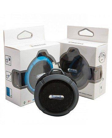 Caixa de Som Bluetooth 3W Portátil Prova D'agua C6 - Kimaster