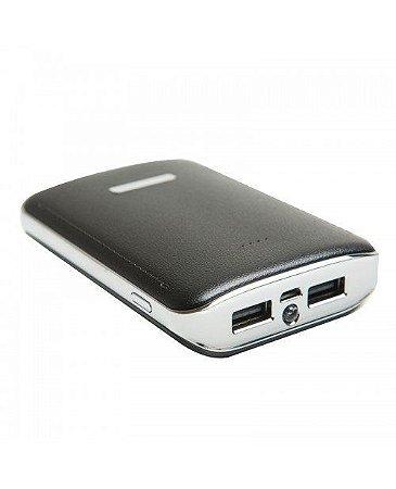 Power Bank 3 Baterias Carregador Portátil Celular E12 - Kimaster
