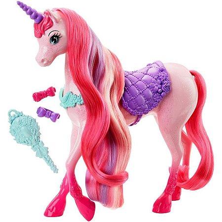 Barbie Fantasia Unicórnio Penteados Mágicos 7991-8 - Mattel