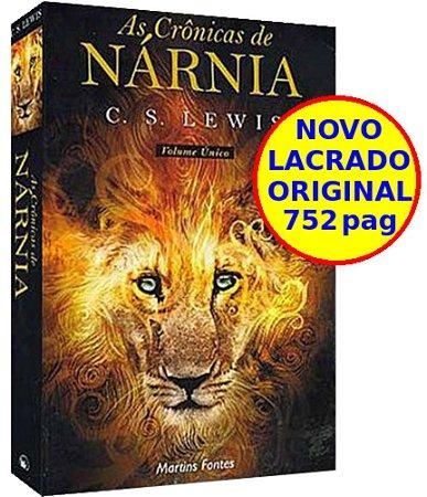 Livro As Crônicas de Nárnia - Volume Único