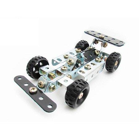 Carro de Corrida Brinquedo de Montar Robótica - Modelix 102